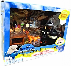 The Smurfs Movie Exclusive Adventure Pack Playset Gargamel's Laboratory