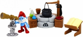 The Smurfs Movie Playset Movie Moment Adventure Pack Papa Smurf's Lab