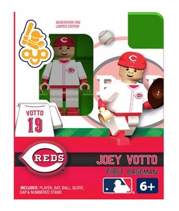 OYO Baseball MLB Building Brick Minifigure Joey Votto [Cincinnati Reds]