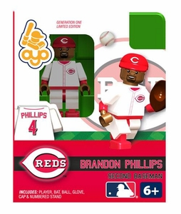OYO Baseball MLB Building Brick Minifigure Brandon Phillips [Cincinnati Reds]
