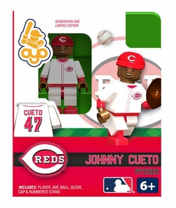 OYO Baseball MLB Building Brick Minifigure Johnny Cueto [Cincinnati Reds]