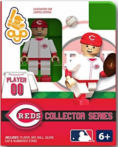OYO Baseball MLB Building Brick Minifigure Cincinnati Reds Collectors Series Figure