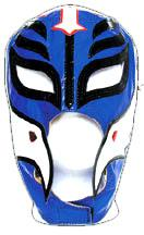 Official Rey Mysterio Kids YOUTH Replica Mask Navy Blue with White Accent