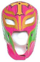 Official Rey Mysterio Kids YOUTH Replica Mask Pink with Green Accent