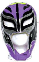 Official Rey Mysterio Kids YOUTH Replica Mask Purple with Black & Silver Accent