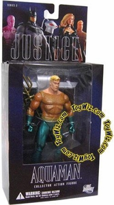 DC Direct Justice League Alex Ross Series 2 Action Figure Aquaman