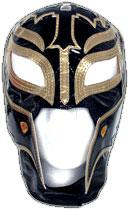 Official Rey Mysterio Kids YOUTH Replica Mask Black & Gold
