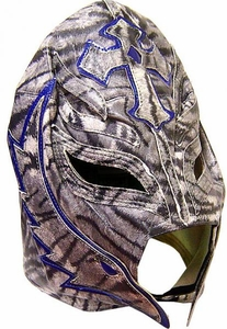 Official Rey Mysterio ADULT Replica Mask Zebra Design