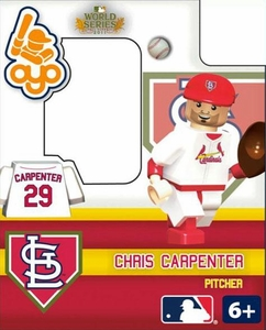 OYO Baseball MLB Building Brick 2011 World Series Minifigure Chris Carpenter [St. Louis Cardinals]
