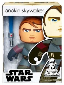 Star Wars Mighty Muggs Wave 5 Figure Clone Wars Anakin Skywalker