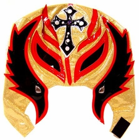 Official Rey Mysterio Kids YOUTH Replica Mask Black, Red & Gold