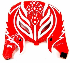 Official Rey Mysterio Kids YOUTH Replica Half Mask Red & White