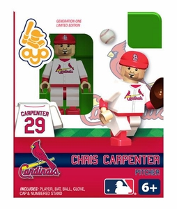 OYO Baseball MLB Building Brick Minifigure Chris Carpenter [St. Louis Cardinals]