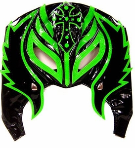 Official Rey Mysterio Kids YOUTH Replica Half Mask Green & Black
