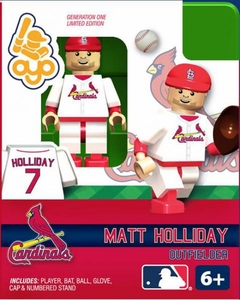 OYO Baseball MLB Building Brick Minifigure Matt Holiday [St. Louis Cardinals]