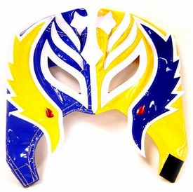 Official Rey Mysterio Kids YOUTH Replica Half Mask Blue & Yellow