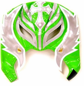 Official Rey Mysterio Kids YOUTH Replica Half Mask Green & Grey