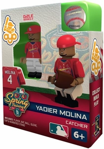 OYO Baseball MLB Building Brick Minifigure Spring Training Yadier Molina [Saint Louis Cardinals]
