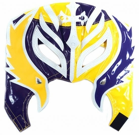 Official Rey Mysterio Kids YOUTH Replica Half Mask Purple & Yellow