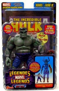 Marvel Legends Series 9 Action Figure 1st Appearance Grey Hulk [Galactus Build-A-Figure]