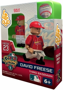 OYO Baseball MLB Building Brick Minifigure Spring Training David Freese [Saint Louis Cardinals]