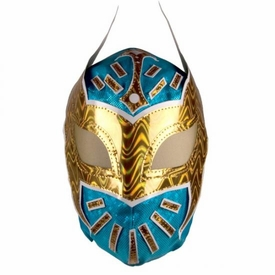 Official WWE Replica Mask Sin Cara [Blue & Gold]