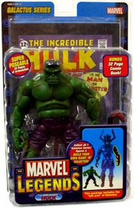 Marvel Legends Series 9 Action Figure 1st Appearance Hulk Green Variant [Galactus Build-A-Figure]