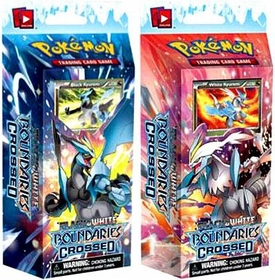 Pokemon Card Game Boundaries Crossed (BW7) Set of Both Decks [Black Kyurem & White Kyurem]