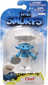 The Smurfs Movie Grab 'Ems Mini Figure Chef