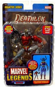 Marvel Legends Series 9 Action Figure Deathlok [Galactus Build-A-Figure]