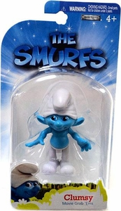 The Smurfs Movie Grab 'Ems Mini Figure Clumsy