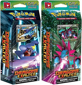 Pokemon Card Game Dragons Exalted (BW6) Set of Both Decks [Dragon Speed & Dragon Snarl]