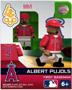 OYO Baseball MLB Generation 2 Building Brick Minifigure Albert Pujols [Los Angeles Angels]