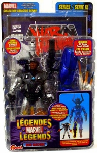 Marvel Legends Series 9 Action Figure War Machine [Galactus Build-A-Figure]