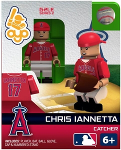 OYO Baseball MLB Generation 2 Building Brick Minifigure Chris Iannetta [Los Angeles Angels]
