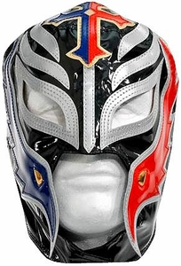 Official WWE Wrestling Replica Mask Rey Mysterio [Black, Red & Blue]