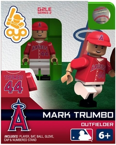 OYO Baseball MLB Generation 2 Building Brick Minifigure Mark Trumbo [Los Angeles Angels]