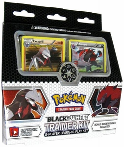 Pokemon Black & White Trainer Kit [2 Player Learn To Play Set!]