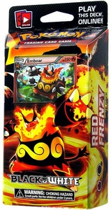 Pokemon Black & White (BW1) Theme Deck Red Frenzy [Emboar]