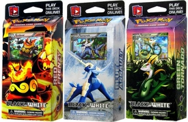 Pokemon Black & White (BW1) Set of 3 Decks [Blue Assault, Red Frenzy & Green Tornado]