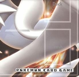Pokemon JAPANESE Black & White Card Supplies Reshiram & Zekrom Official Play Mat