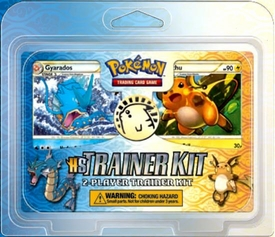 Pokemon HS Card Game HeartGold & SoulSilver 2-Player Trainer Kit [Gyarados & Raichu]