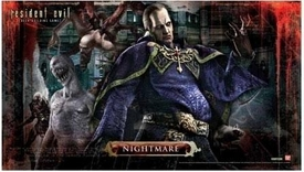 Resident Evil Deck Building Card Game Nightmare Play Mat