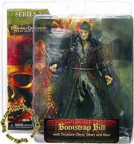 NECA Pirates of the Caribbean Dead Man's Chest Series 2 Action Figure Bootstrap Bill Turner
