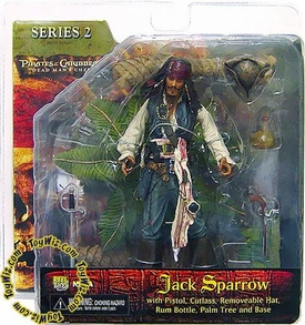 NECA Pirates of the Caribbean Dead Man's Chest Series 2 Action Figure Captain Jack Sparrow