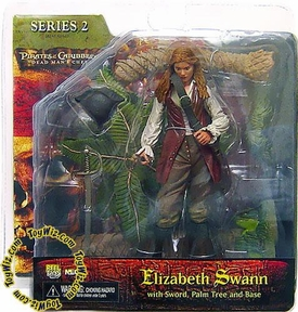 NECA Pirates of the Caribbean Dead Man's Chest Series 2 Action Figure Elizabeth Swann