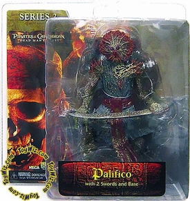 NECA Pirates of the Caribbean Dead Man's Chest Series 2 Action Figure Palifico