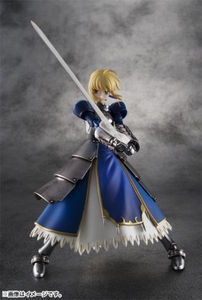 FATE/Stay Night Tamashii Nations Chogokin Deluxe Figure Saber