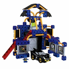 TRIO Building System DC Super Friends Playset Batcave