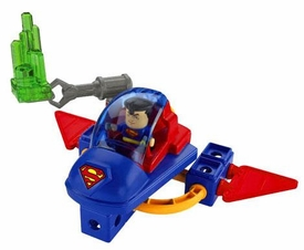 TRIO Building System DC Super Friends Playset Superman